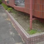 雑草対策 砂利敷き