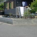 ウッドフェンス 施工